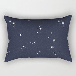 Starry Night Sky Rectangular Pillow