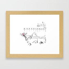 Happy Hour Framed Art Print