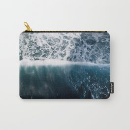 Sun Wave in the Atlantic Ocean - Seascapes Carry-All Pouch