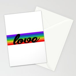 LOVE EQUALITY Stationery Cards