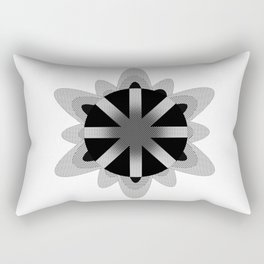 The atom Rectangular Pillow