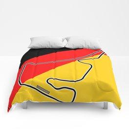 Hockenheim Racetrack Comforters