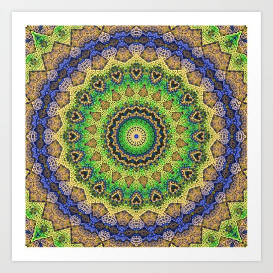 Friday's Mandala Art Print
