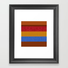 there's a snake in my boot Framed Art Print
