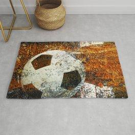 Soccer art Rug