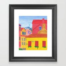 Cannaregio, Venice. (Remixed) Framed Art Print