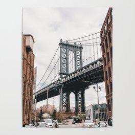 Manhattan Bridge, New York City Poster