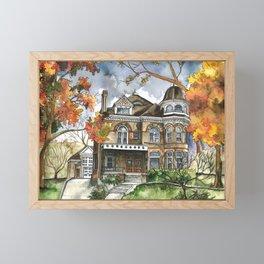 Victorian Autumn Framed Mini Art Print