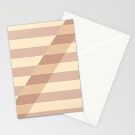 Striped Shadow 3 Stationery Cards