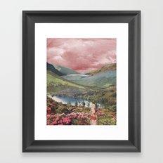 Highland Dusk Framed Art Print