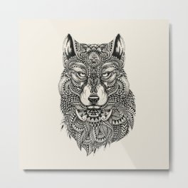 wolf Highly detailed Metal Print