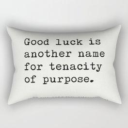 RALPH WALDO EMERSON best quotes 5 Rectangular Pillow