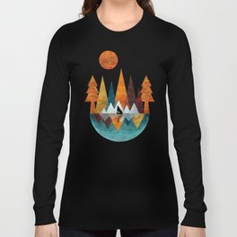 The Night Of The Wolf Long Sleeve T-shirt