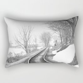 Down the line Rectangular Pillow