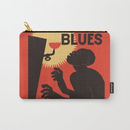 Retro The Weary Blues (music) Carry-All Pouch