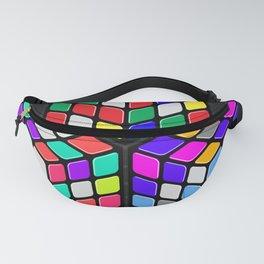 Graphic 947 // Rubik's Cube Isometric Illustration Fanny Pack