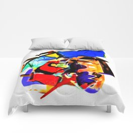 Abstract Series IV Comforters