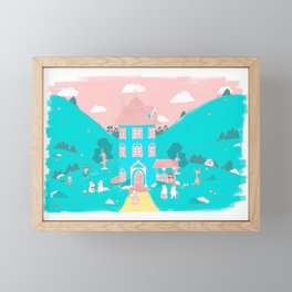Valle Moomin Framed Mini Art Print