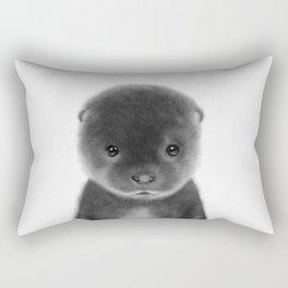 Cute Otter Rectangular Pillow