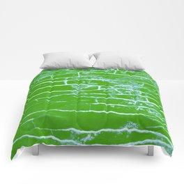green stone Comforters