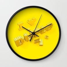 I Love Duplo Wall Clock