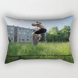 Sk8 or D13! Rectangular Pillow