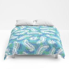 Creepy Crawly Amoeba Comforters
