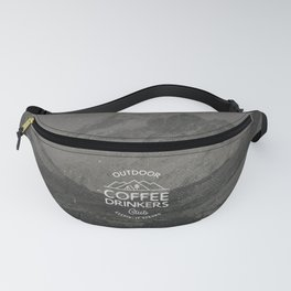 Outdoor Coffee Drinkers Club Fanny Pack