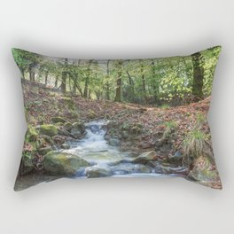 Early Spring Sunrise Rectangular Pillow