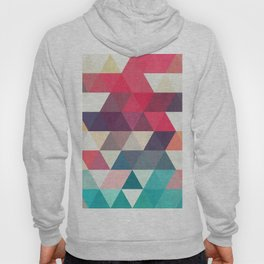 Composition with triangles Hoody