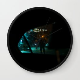 Rainy Nights Wall Clock