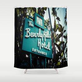 Beverly Hills Hotel, No. 2 Shower Curtain