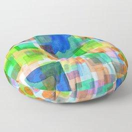 Playful Squares Floor Pillow