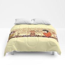 Kokeshis Klimt Comforters
