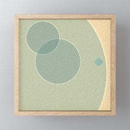 Seafoam Dream Framed Mini Art Print