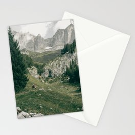 Peaceful Mountains | Landscape Photography Alps | Print Art Stationery Cards
