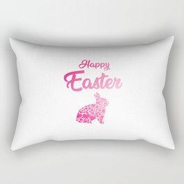 Happy Easter gift idea Rectangular Pillow