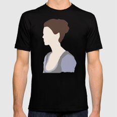 Claire Fraser Variant Black MEDIUM Mens Fitted Tee