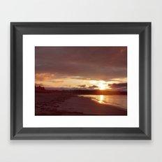 Maine Sunrise Framed Art Print