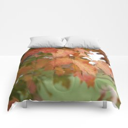 October Leaves Comforters