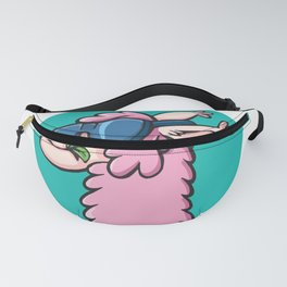 cool llama with sunglasses Fanny Pack