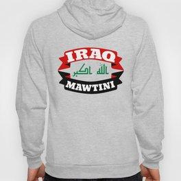 Iraq My Homeland Banner Hoody