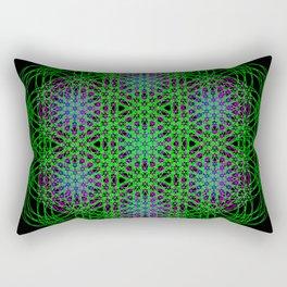 Trippin Circles Rectangular Pillow