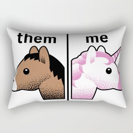 THEM - ME Rectangular Pillow