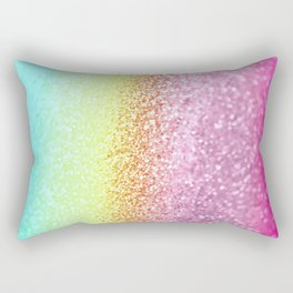 UNICORN GLITTER Rectangular Pillow