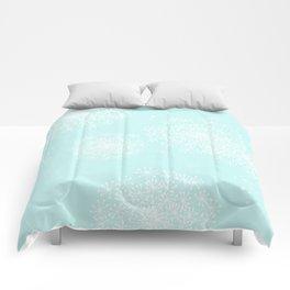DANDY SNOWFLAKE AQUA Comforters