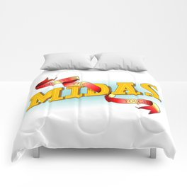 Give It The Midas Touch Comforters