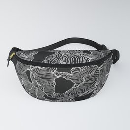 Inverted Reticulate Fanny Pack