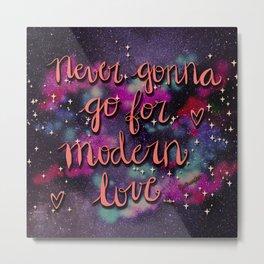 Modern Love Metal Print