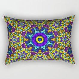 Persian kaleidoscopic Mosaic G522 Rectangular Pillow